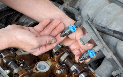 BMW Fuel Injector Check