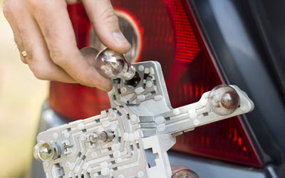 Audi Blown Out Bulb Replacement
